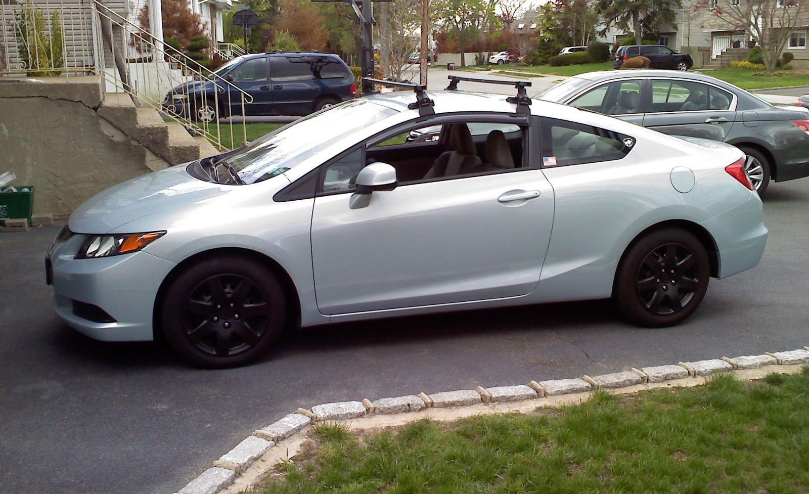Install Honda Civic Thule 480r Arb53 Universal Roof Racks? 0513131652