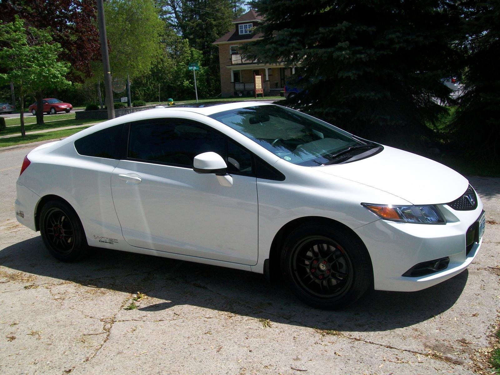 Honda Civic Si 2012 White