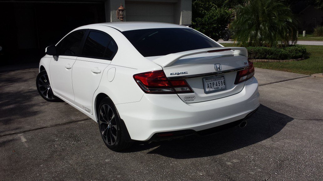 New Honda Owner 2013 Civic Si Sedan Taffeta White