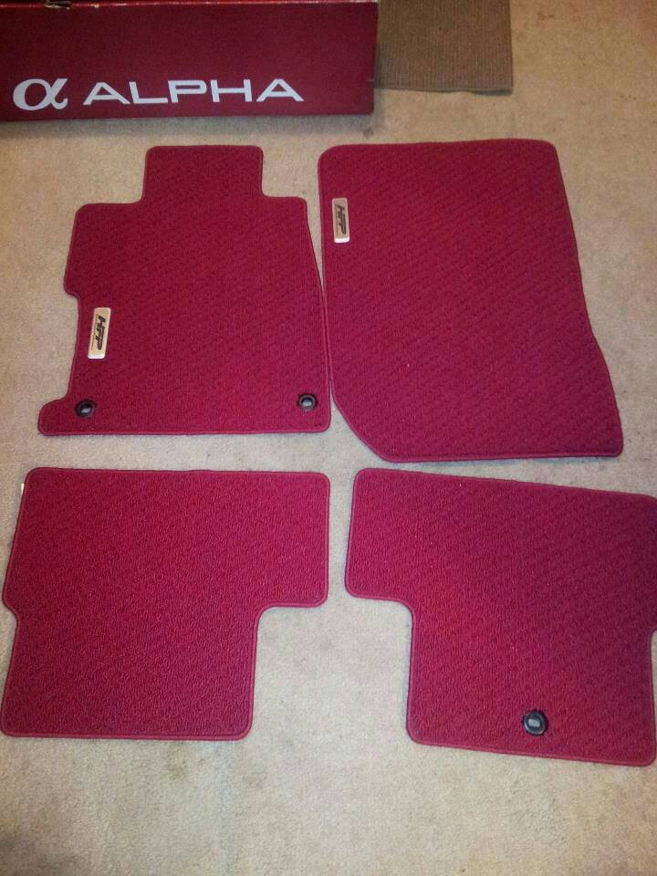 Red Hfp Floor Mats Page 9