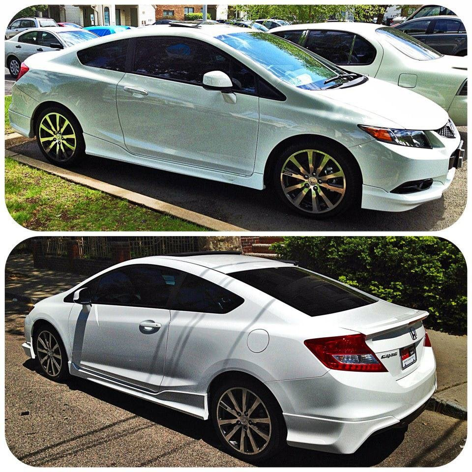 Fresh of the 8thGen boards White Si Coupe from Jersey