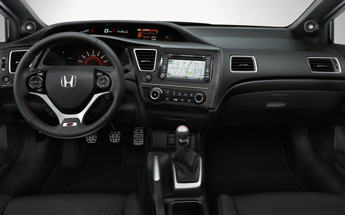 Honda Civic Si 2014 Sedan Black