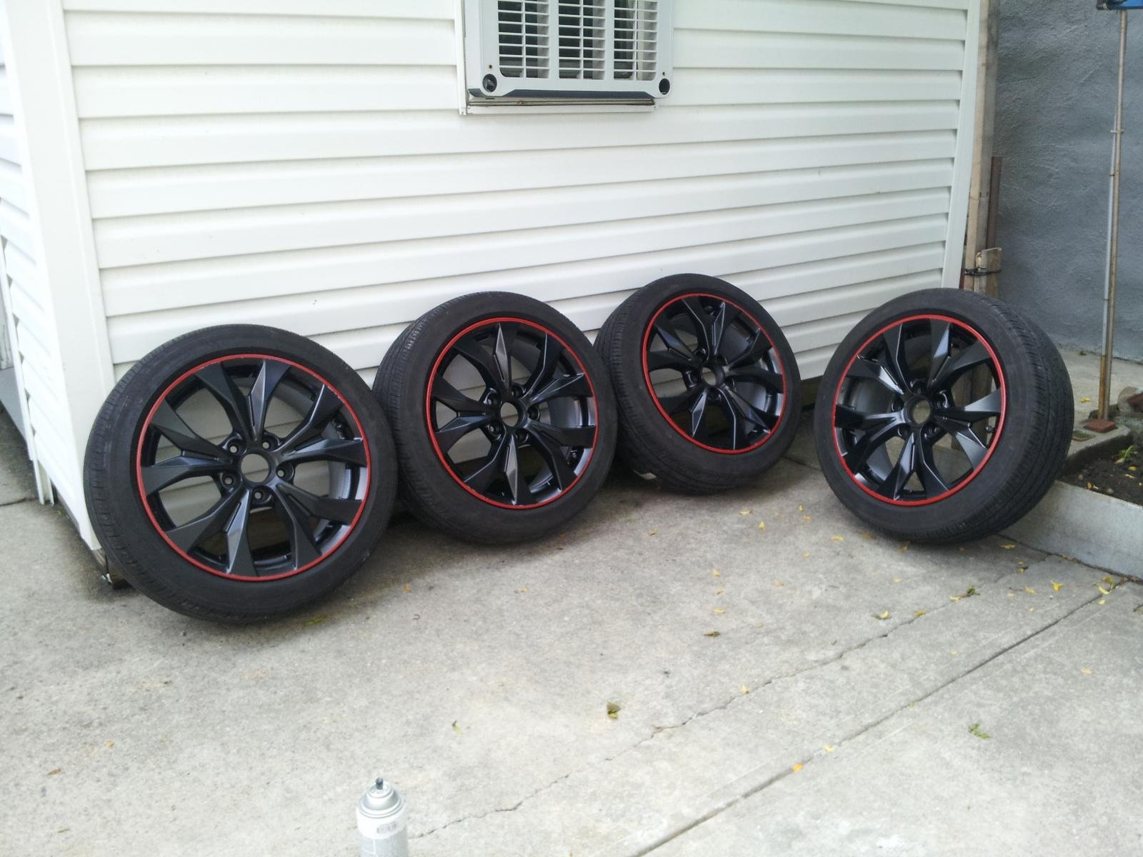2012 Honda Civic si Rims 2012 Honda Civic si Oem Wheels