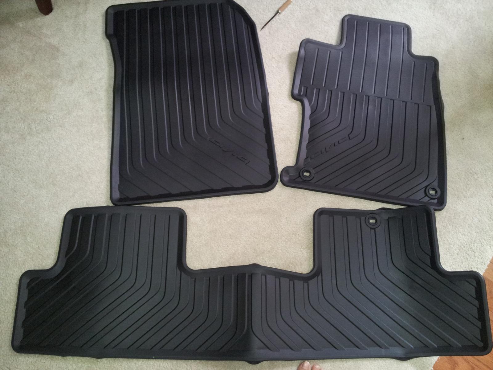 OEM all weather floor mats