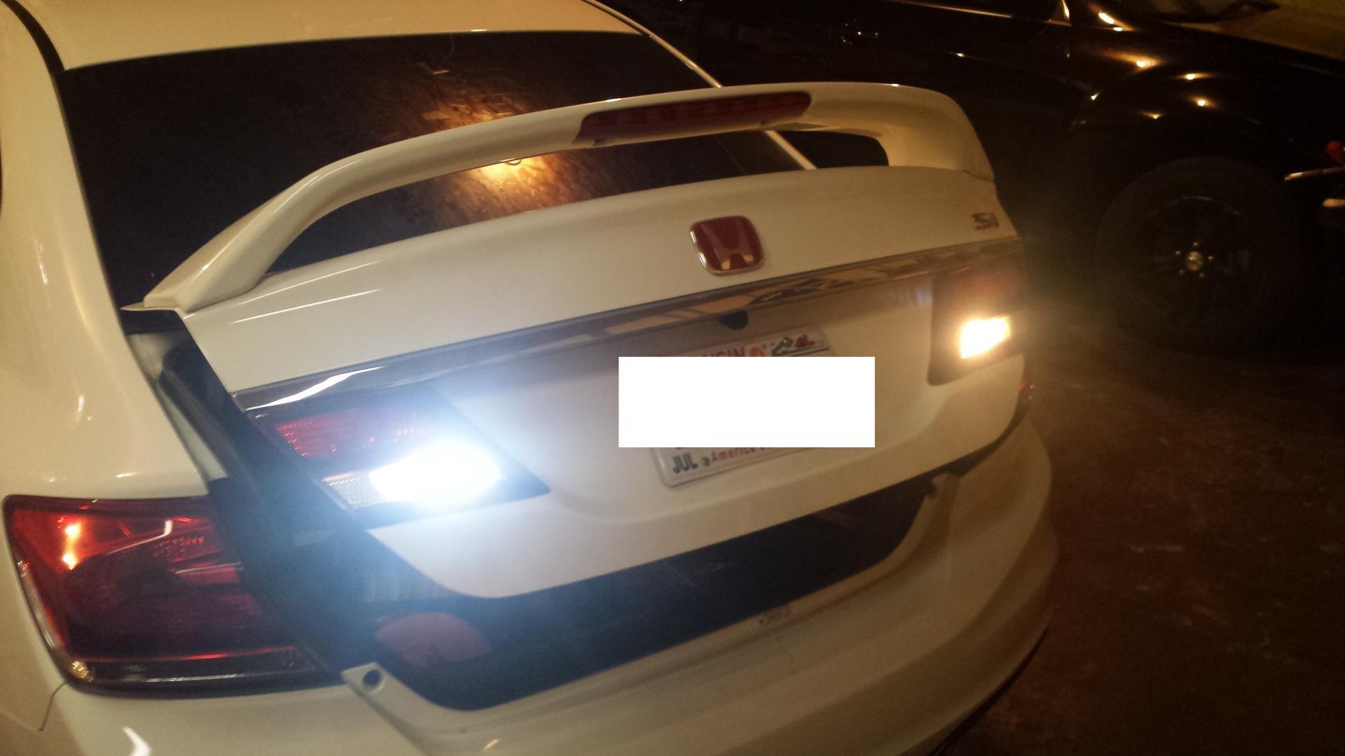 9th Gen Civic Backup/Reverse Light LED! Several bulb options! Same-Day Shipping!-20141204_174018.jpg