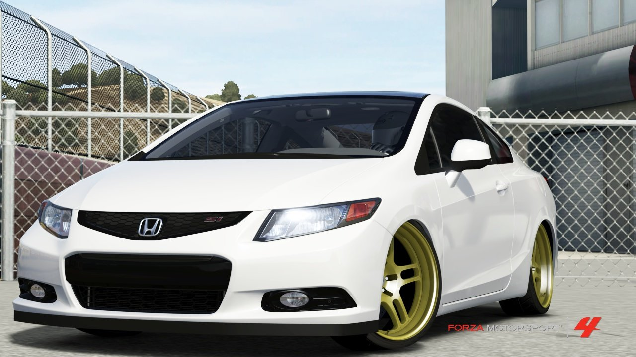 D Th Gen Civic Si Coupe Forza Thgencivic Slammed