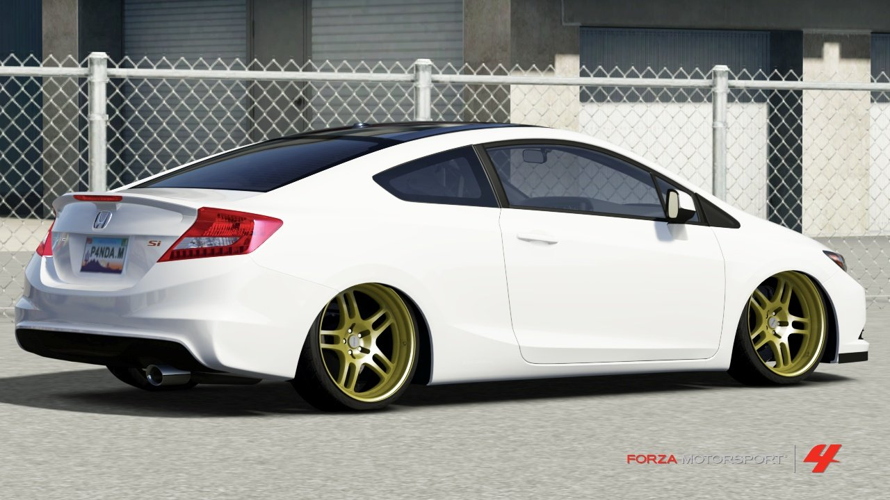 9th gen civic si coupe in forza 4. Black Bedroom Furniture Sets. Home Design Ideas