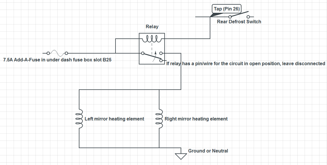 similiar heated mirror wiring diagram keywords side mirror wiring diagram get image about wiring diagram