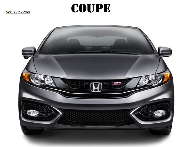 2014 Si Coupe And Sedan Headlight Differences