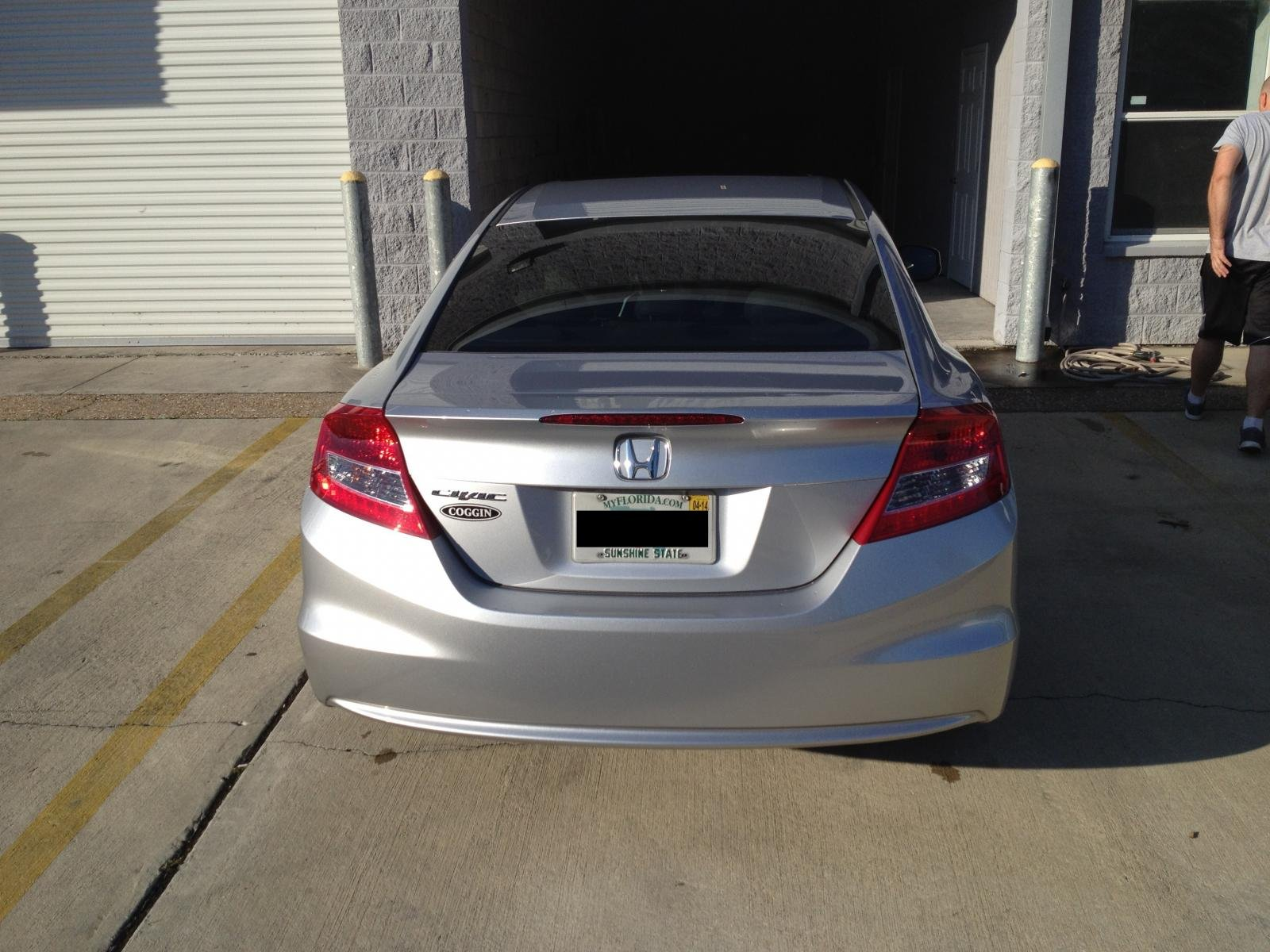 Dipped '12 civic EX Coupe.