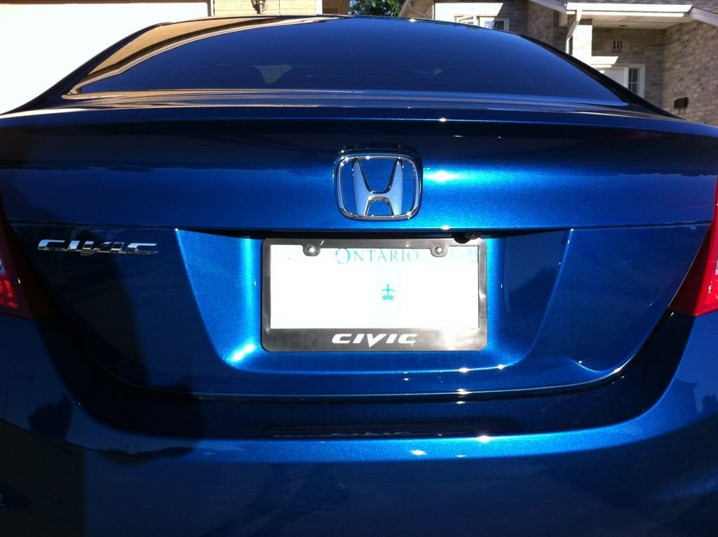What are your license plate frames? - Page 2
