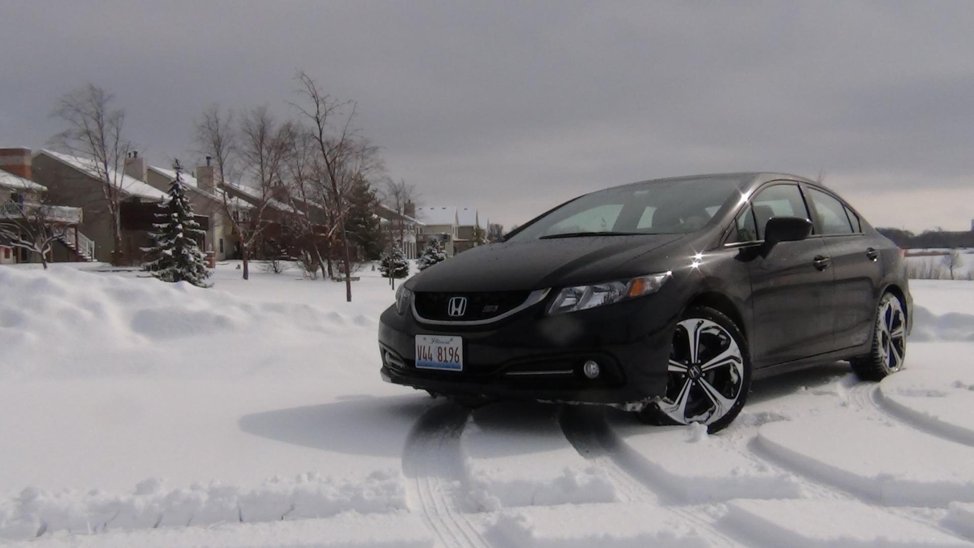 Looks So Good In Snow Si Sedan Cbp