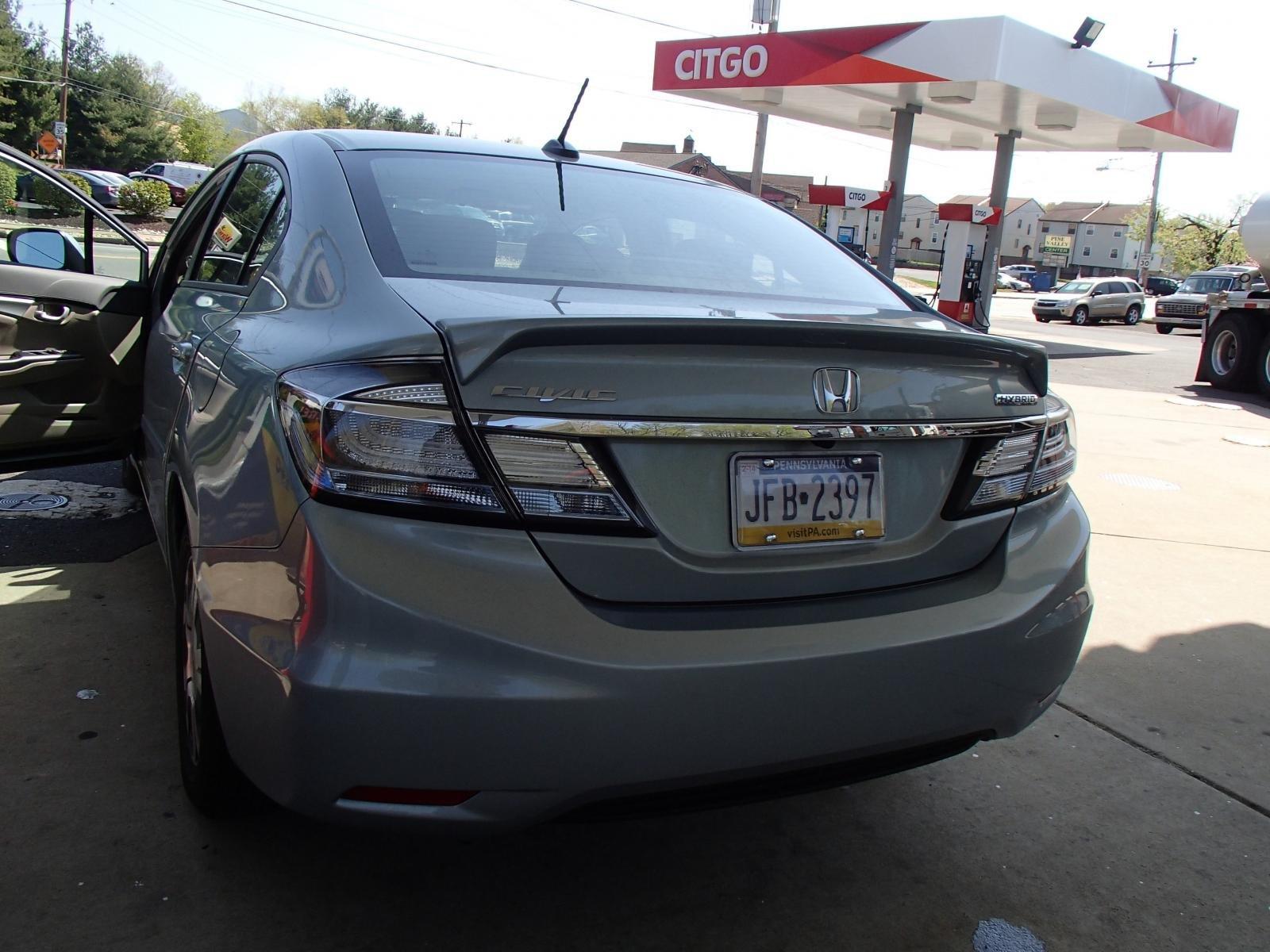 Does Anyone Else Have A 2013 Honda Civic Hybrid Besides Me????
