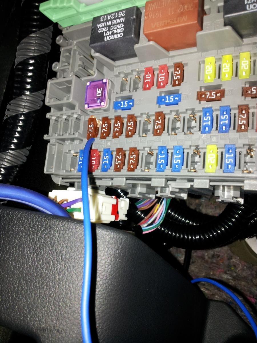 honda civic si 2012 fuse box diy civic si batman s easy way aftermarket amp sub install can  diy civic si batman s easy way