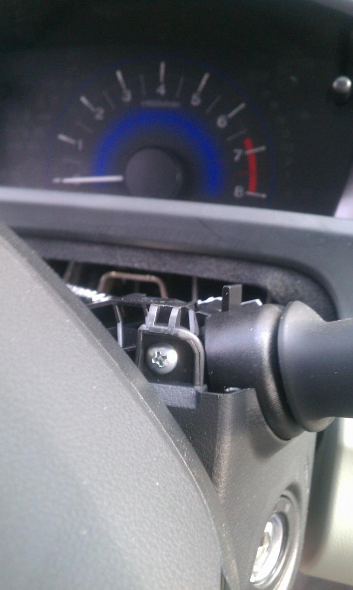 How to change replace install column head light wiper switch honda - Diy Variable Intermittent Wiper Install Imag0590 Jpg