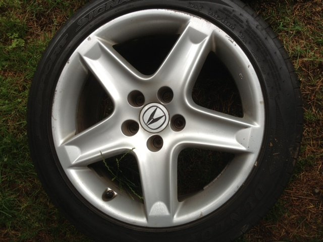 Will Circa Acura TL OEM Rims Fit Si Sedan See PICS - 2006 acura tl rims