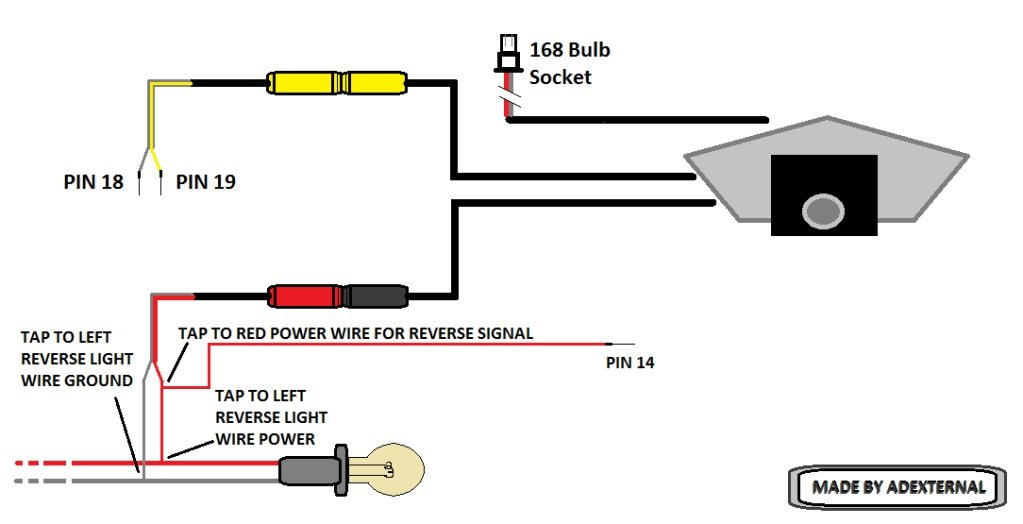 Reverse Camera Wiring Diagram from www.9thgencivic.com