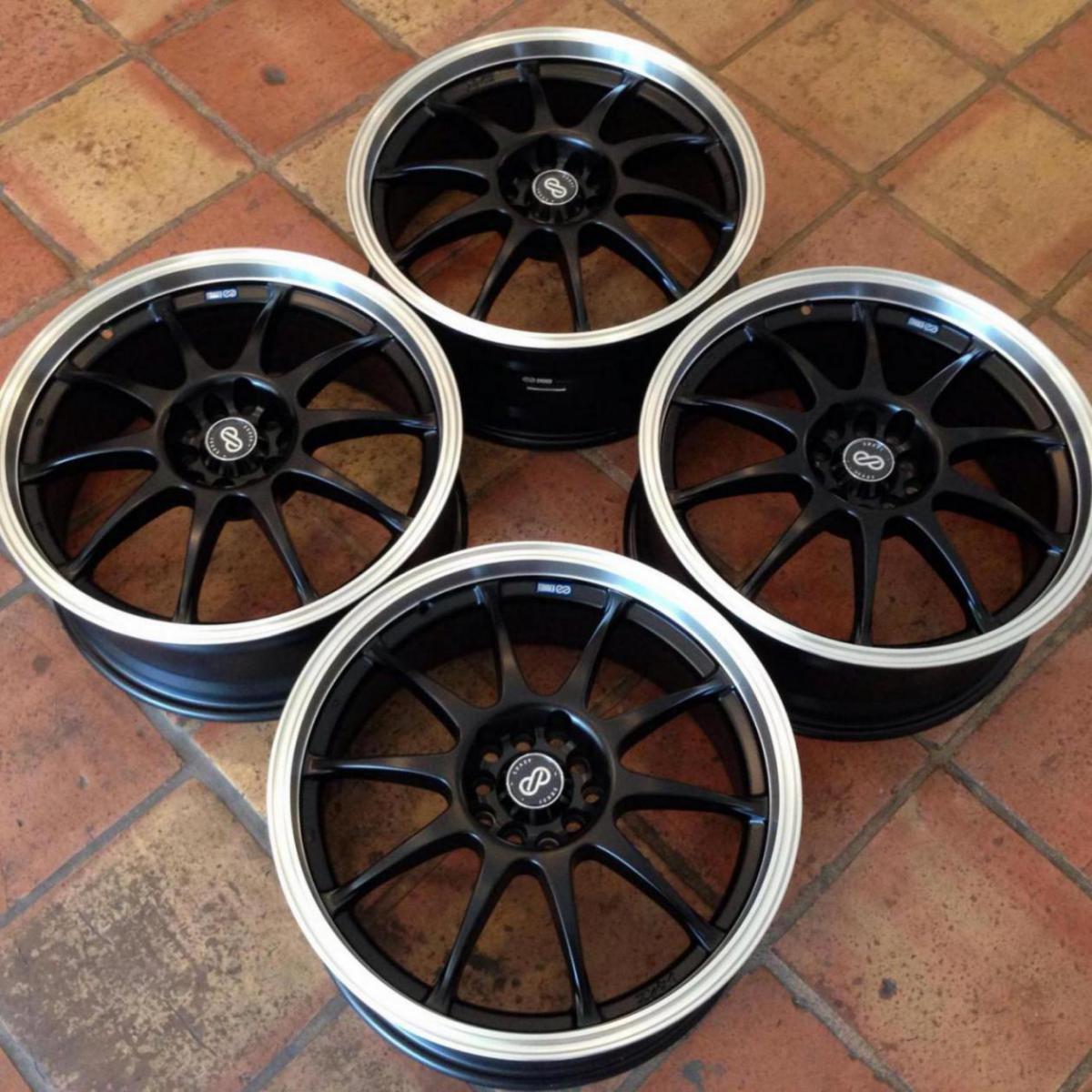 """Fs: 18"""" advan rs-d replica wheels by enkei group buy"""