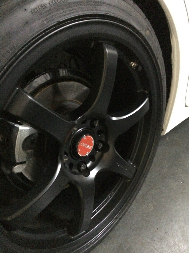Semi Gloss Black Wheels Semi-gloss Black Wheel/