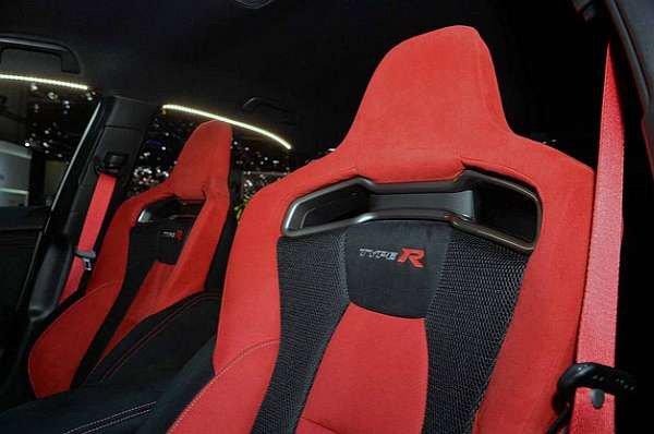 Type R Red Seat Belt Conversion