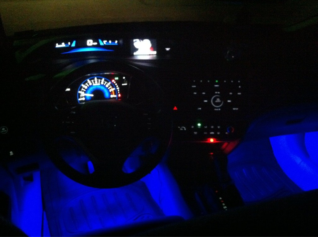 Just installed LED interior lights!
