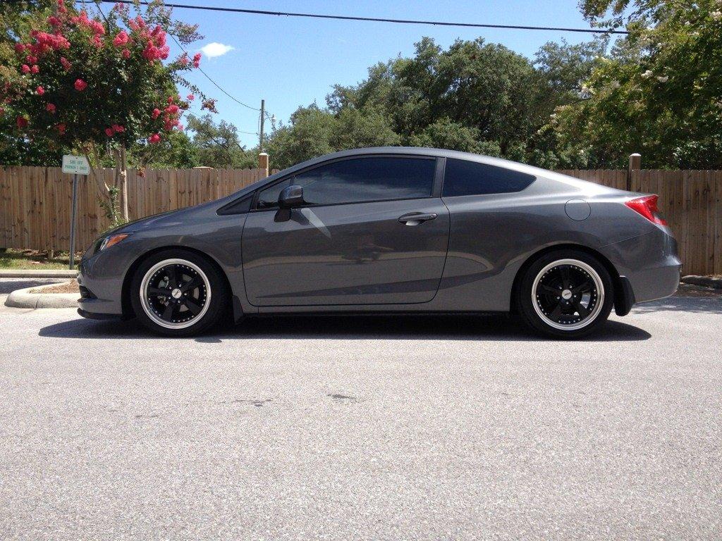 2014 Honda Civic Coupe Lx Black