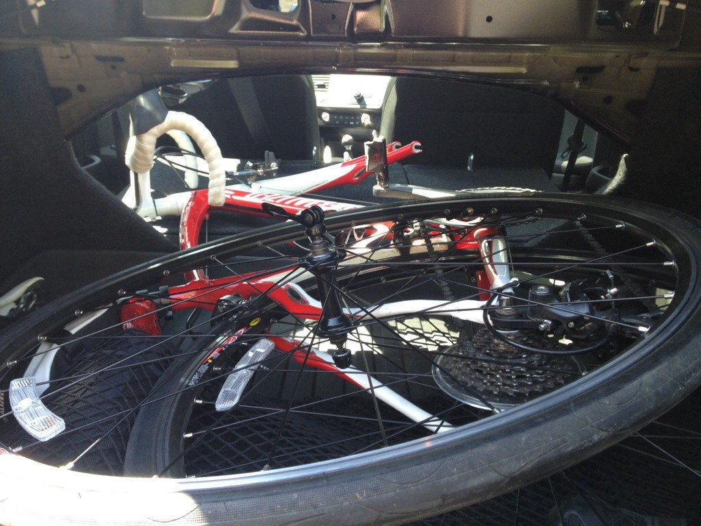 Bike Fit In Trunk