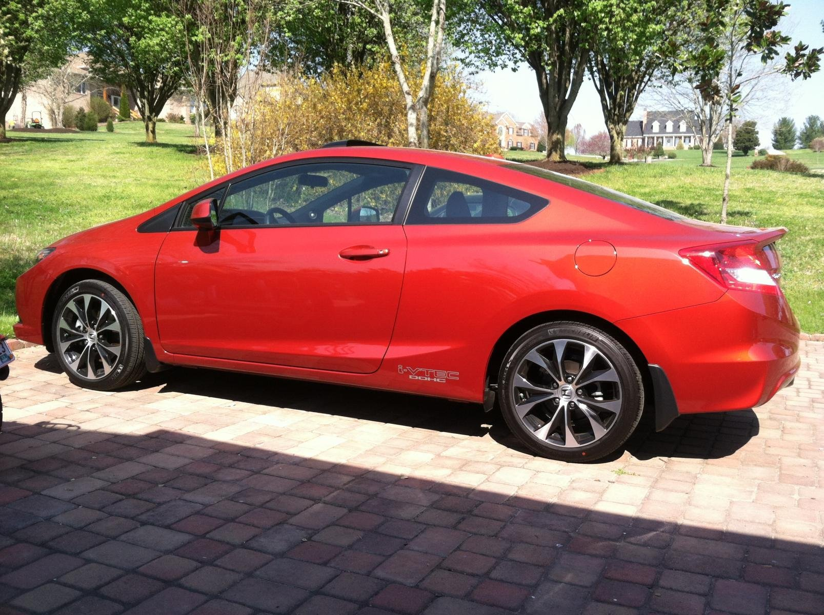 New to the Site and got a 2013 Honda Civic Si Coupe ...
