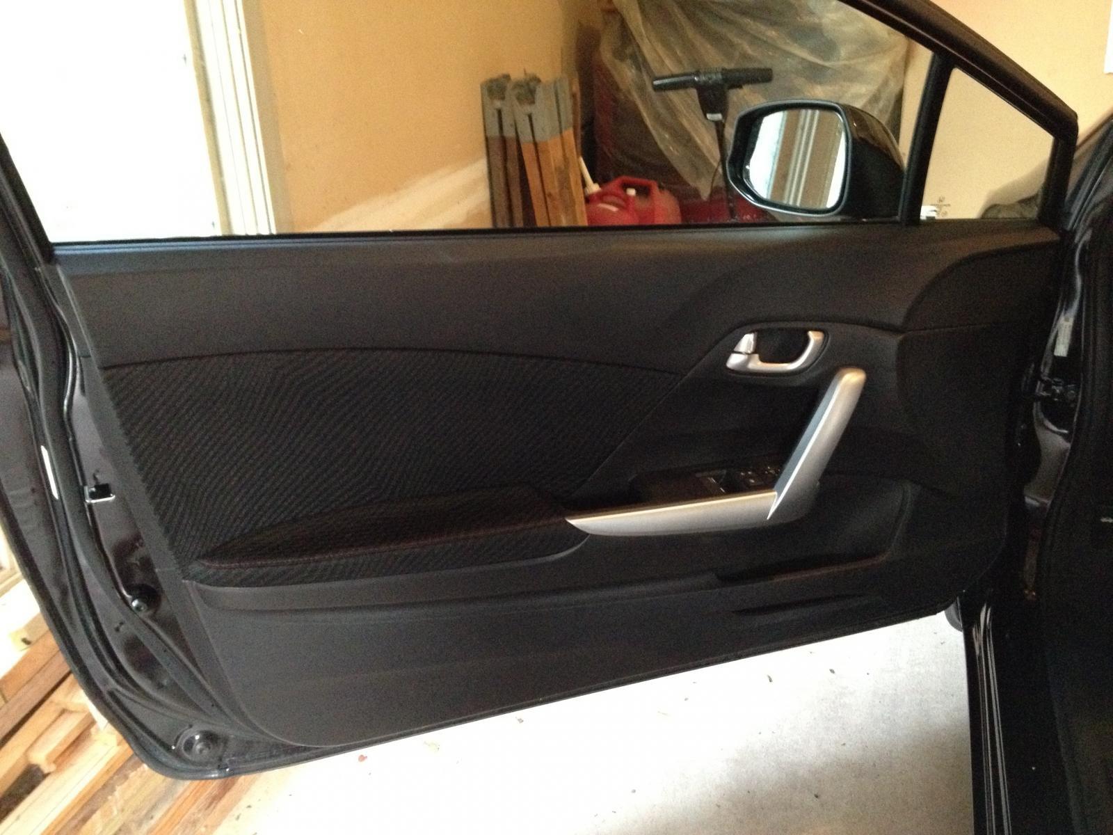 Car interior piping - Interior Door Piping Welt Trimming Img_0465 Jpg