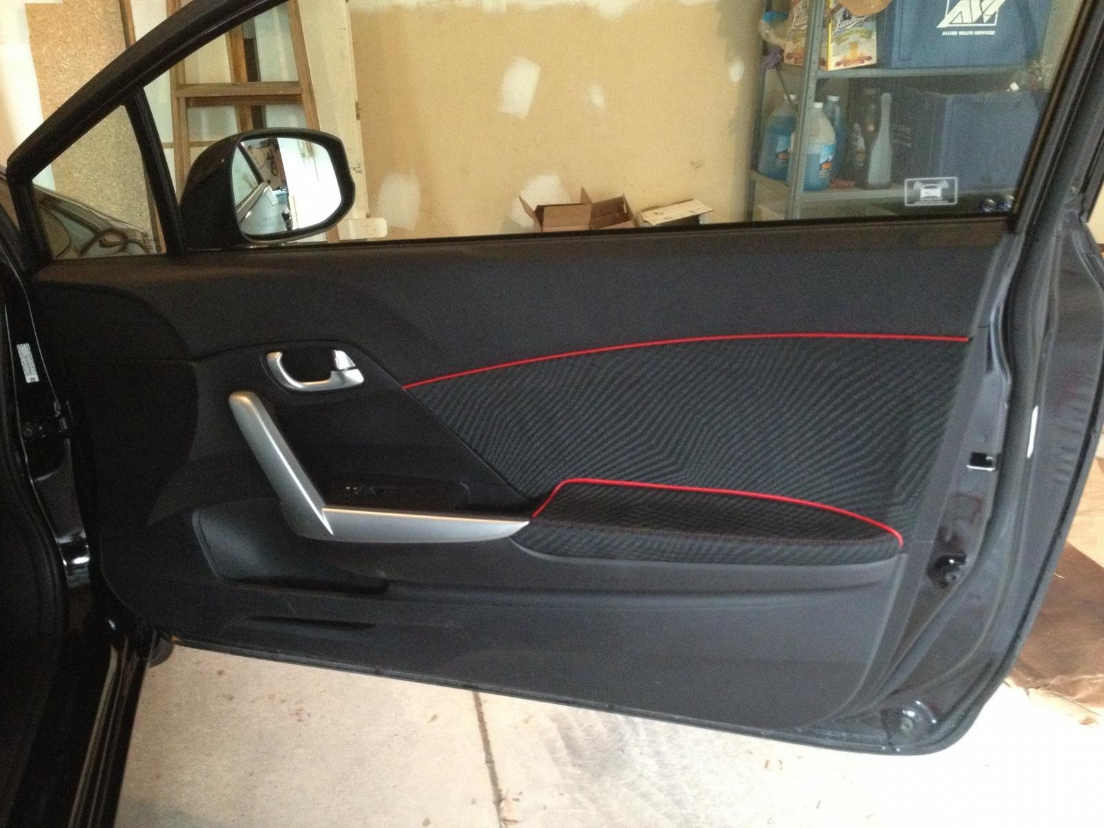 Car interior piping - Interior Door Piping Welt Trimming Img_0466 Jpg