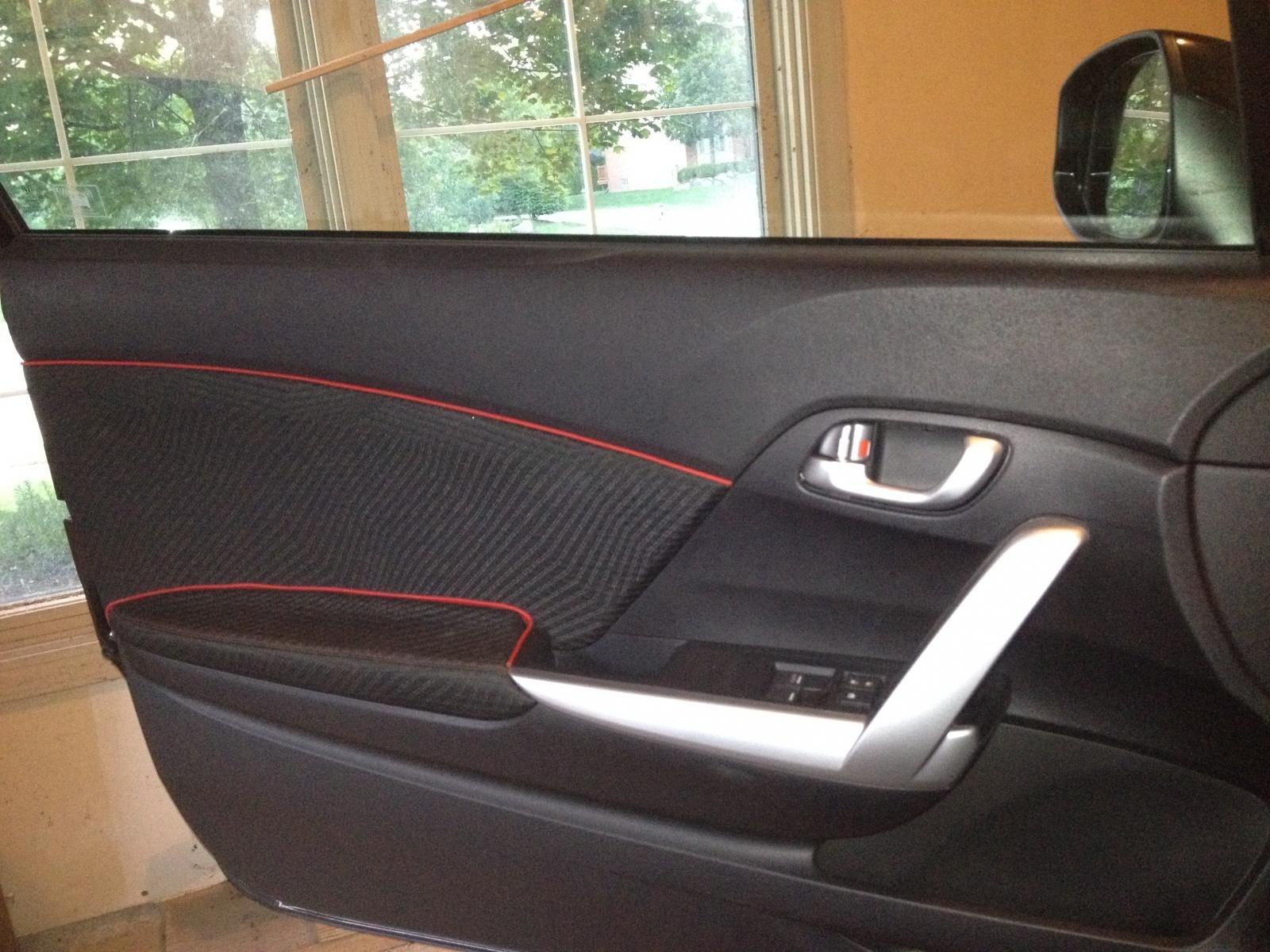 Car interior piping - Interior Door Piping Welt Trimming Img_0467 Jpg