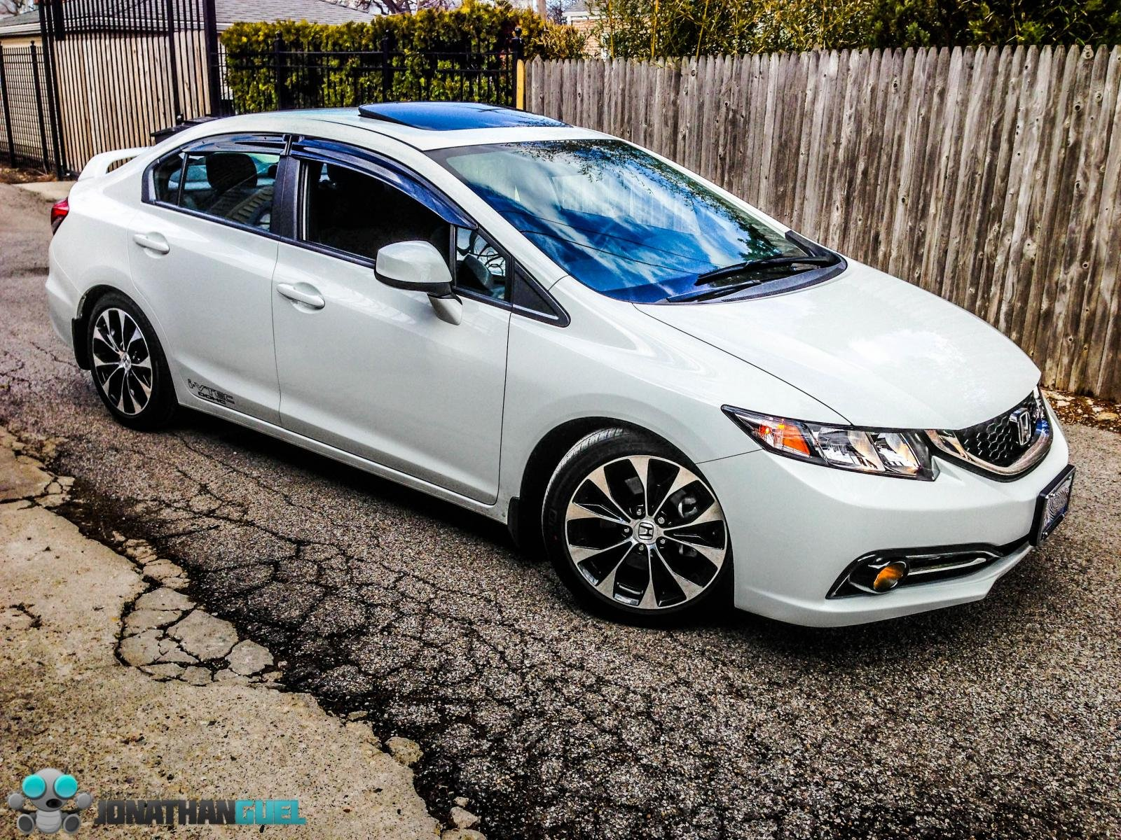 Honda Civic Si 2013 White