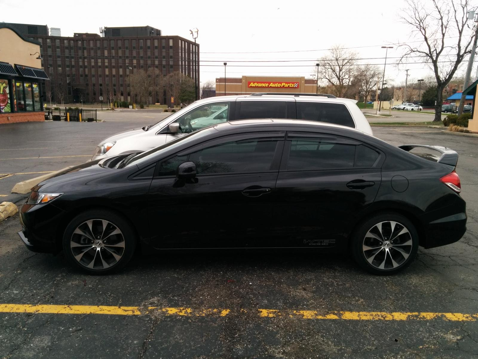 Genial 2013 Civic Si Sedan Crystal Black Tint, Shift Knob, Mugen  Visor Img_20140421_170142.