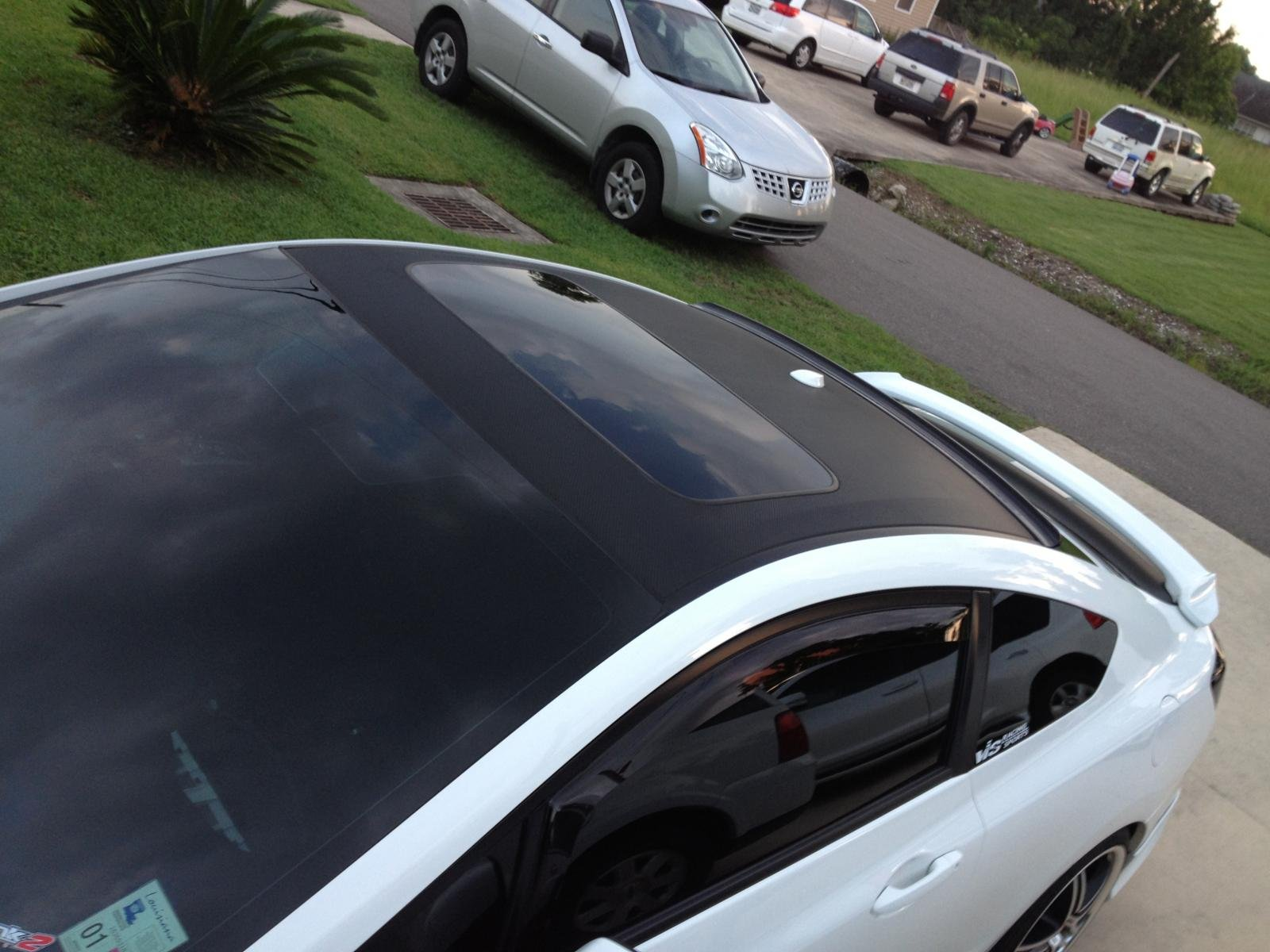 Amazing ... Carbon Fiber Roof And Trunk Wrap Img_2061 ...