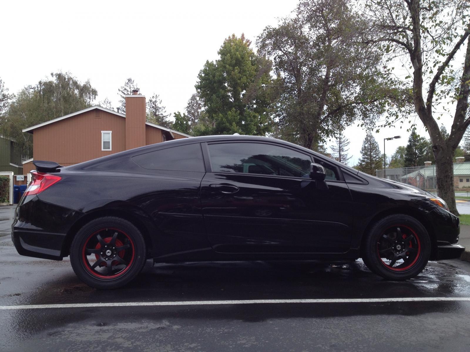 ... PURE®   Honda Civic 2012 2013 Custom Style Rear Spoiler Img_4506 ...