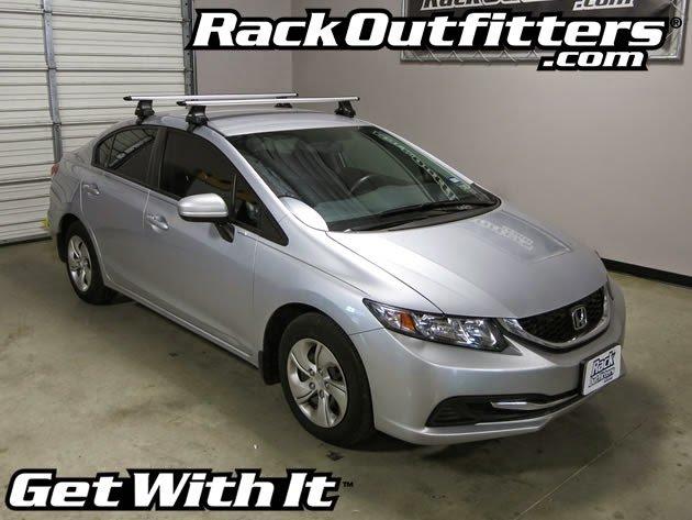 Awesome Universal Roof Racks? Install Honda Civic Thule 480r Arb53 ...