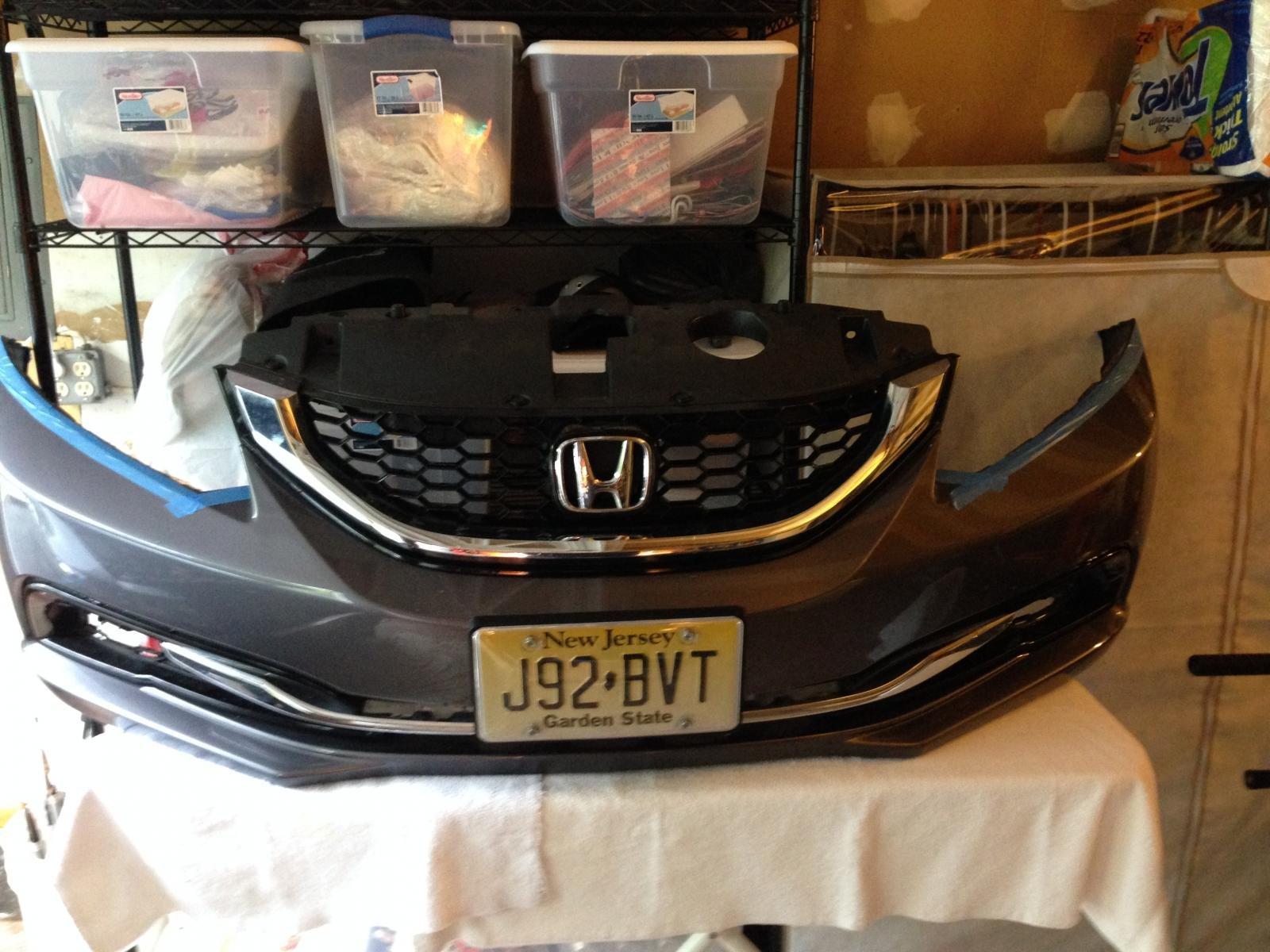 D Civic Exl Sedan Horn Question Numper Off on Honda Civic Bumper Clip