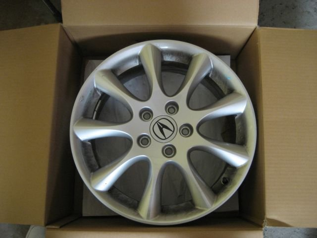 Will Acura TSX OEM Rims Fit Si Sedan See PICS - Rims for acura tsx