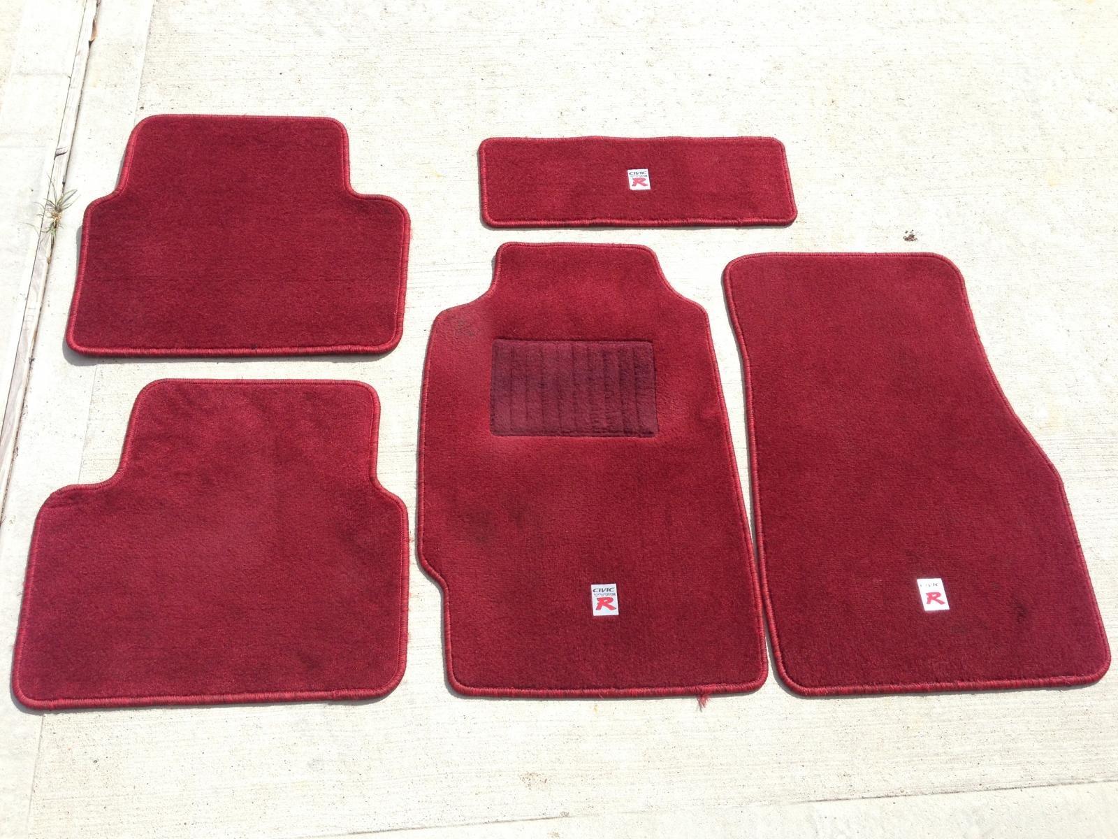 Floor mats for honda civic - Civic Type R Floor Mats Red Photo 2 Jpg