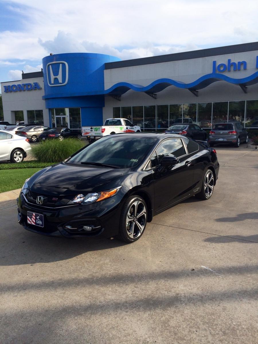 Honda Civic Si 2014 Black
