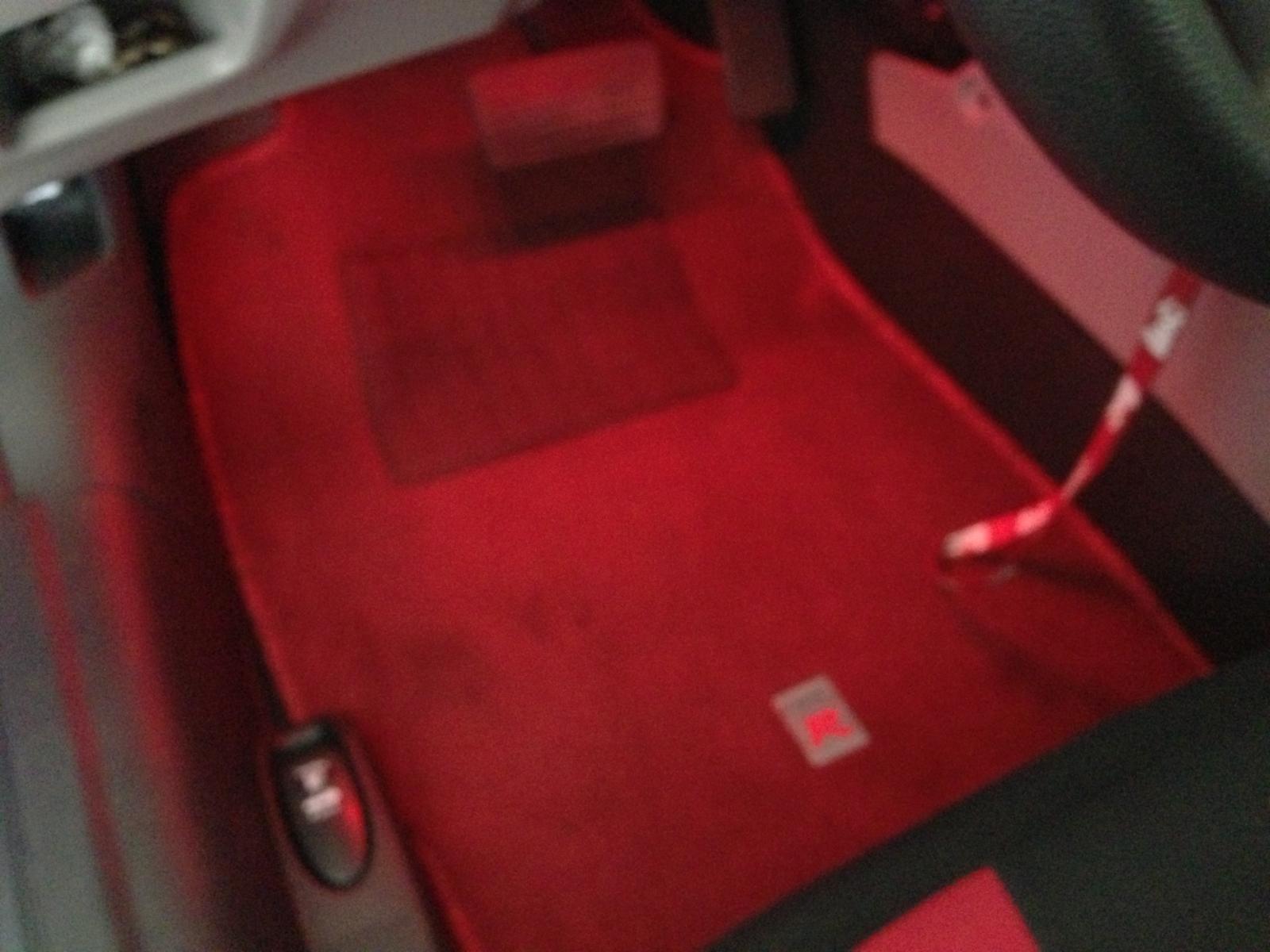 Civic Type R Floor Mats Red