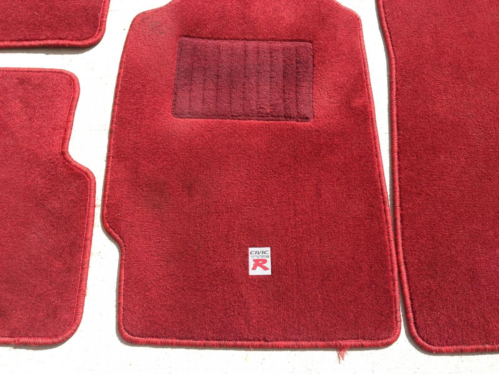 Floor mats for honda civic -  Civic Type R Floor Mats Red Photo 6 Jpg
