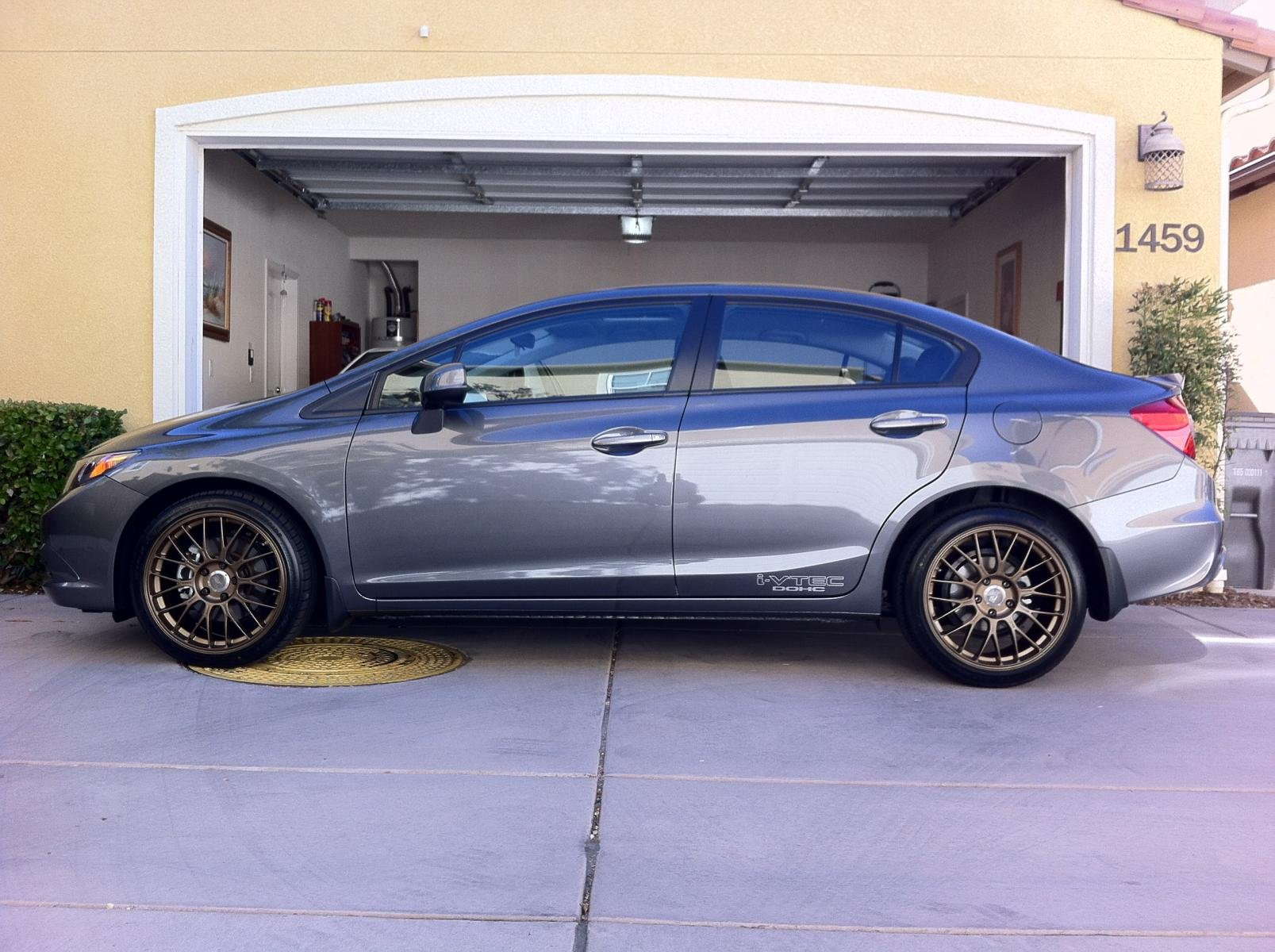 Rims Honda Civic 2012 2012 Honda Civic ex Coupe Rims