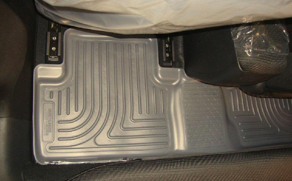 Weathertech mats vs husky - Weathertech Floorliners Digitalfit Vs Husky Weatherbeater Floor Liners For 2013 Honda Unnamed Jpg
