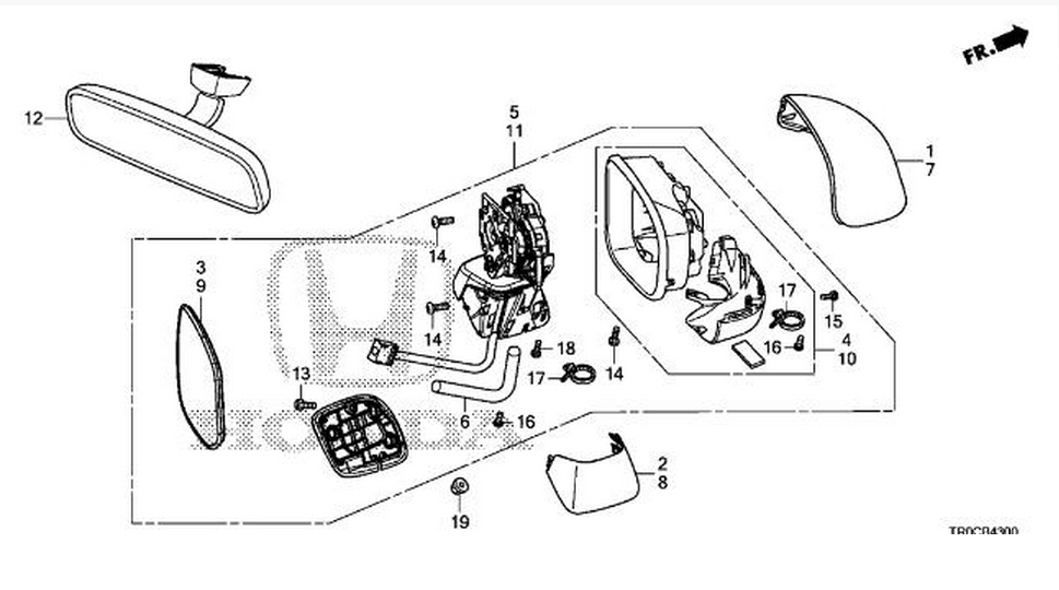 Honda Side Mirrors Diagram Free Wiring Diagram For You