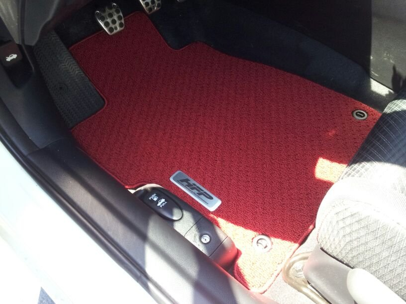 Red Hfp Floor Mats Page 2 9th Gen Civic Forum