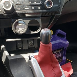 New shift boot